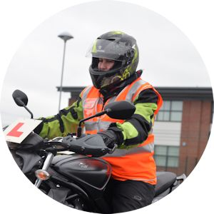 DAS motorcycle training Module One womens instructor