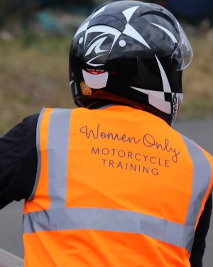 Direct Access Scheme motorcycle training for female riders