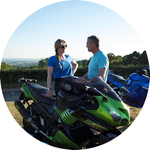 Laura Smith motorcycle training instructor