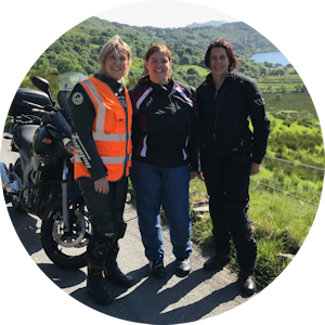 Motorcycle tours UK Women Only