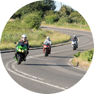Motorcycle training courses for women