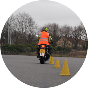 Pass your full motorcycle test with Women Only Motorcycle Training DAS