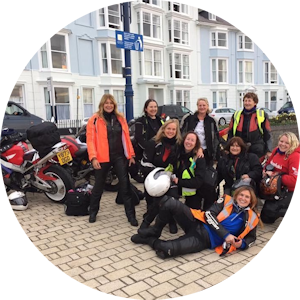 UK womens motorcycle training tours