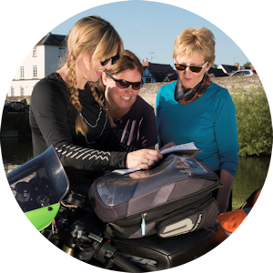 Women Only advanced motorcycle training courses