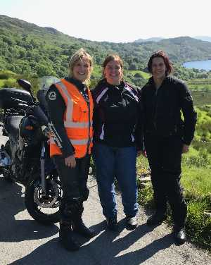 Womens motorcycle training tours